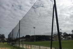 Barrier Netting for behind soccer goals