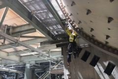 Installing Safety Netting