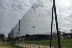 Barrier Netting for behind soccer goals