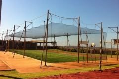 Cricket Net Construction