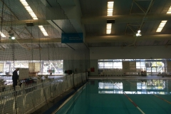 Custom Made - retractable curtain netting