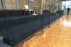 Retractable netting curtain - Perth Australia