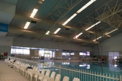 Retractable netting curtain - custom made