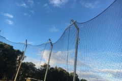 discus netting for discus cage