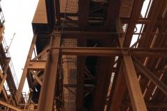 Safety Netting under a conveyor belt - Perth Australia